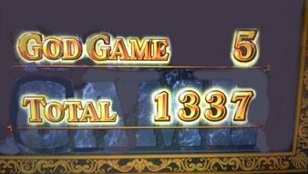 ゴッド凱旋 1337枚獲得
