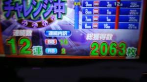 リノ 2063枚獲得