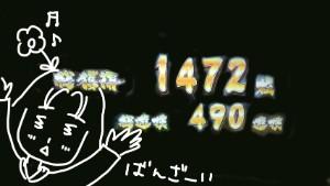 カグラ 1472枚獲得