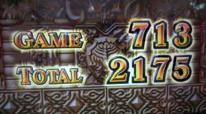 AT終了2175枚獲得
