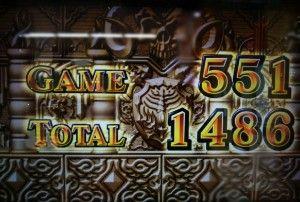 AT終了1486枚獲得