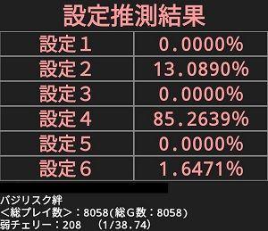 判別アプリ8000G