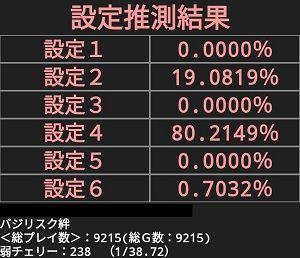 判別アプリ9000G