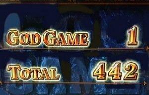 AT終了442枚獲得