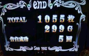 1055枚獲得