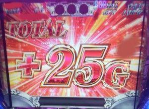 25G乗せ