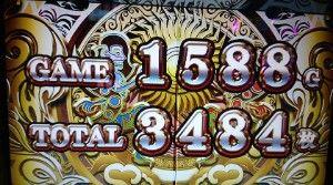 ART終了3484枚獲得