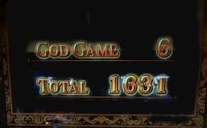 6セット終了1631枚獲得